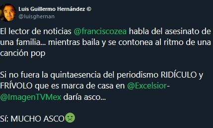 Screenshot_2019-11-06 (1) Luis Guillermo Hernández © en Twitter El lector de noticias franciscozea habla del asesinato de u[...]