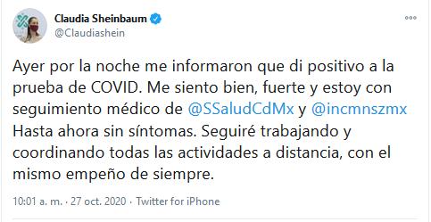 Screenshot_2020-10-27 Claudia Sheinbaum en Twitter